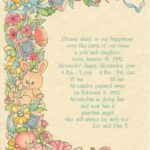 Knowing Ahead: Birth Announcements